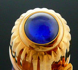 Cartier Pasha Light Blue and Gold Fountain Pen
