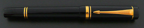 Parker Duofold International Fountain Pen - Black