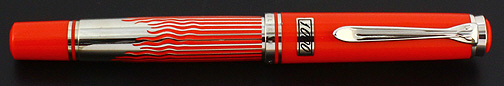 Pelikan Red Austrian1000 Limited Red Edition Fountain Pen