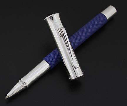 graf-von-faber-castell-guilloche-resin-indigo-blue-rollerball-pen