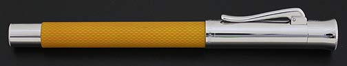 graf-von-faber-castell-guilloche-resin-sahara-yellow-rollerball-pen