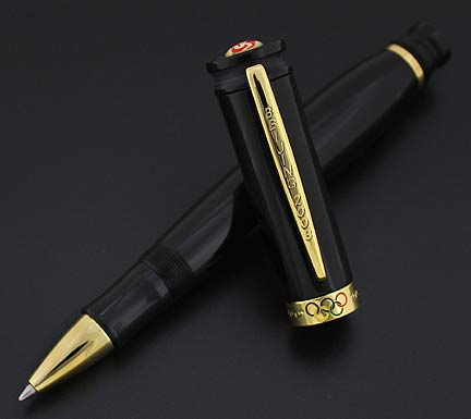 loiminchay-beijing-2008-mini-olympic-rollerball-pen-limited-edition - Mini Gian Long Size